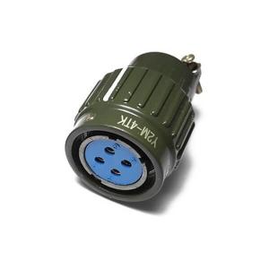 Y2M-4TK 4Pin Hole Y21M Circular Round Female Plug Connector