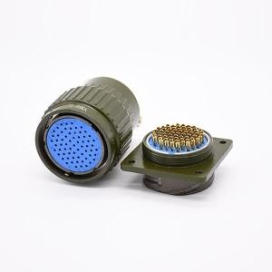Y36M-65TK 65 Pin Solder Contact Female Plug &Male Socket Aviation Circular Connector