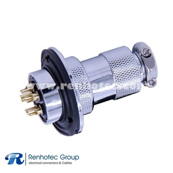 GX25 Connector Round Aviation Connector Male Female Straight Panel Mount GX25 Standard type