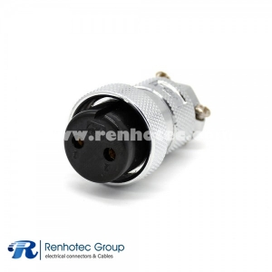GX30 Aviation Plug 2 Pin Straight Female Connector Cable Plug For Cable