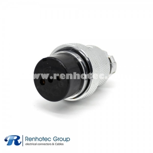 GX30 Connector 2 Pin Straight Female Cable Plug for Cable