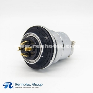 Reverse connector GX48 Reverse Type 4Pin Straight Panel Receptacles Female&Cable Plug Male