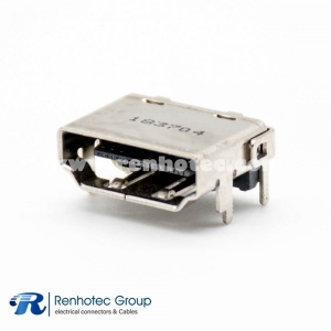 HDMI SMT Female Connector for PCB Mount